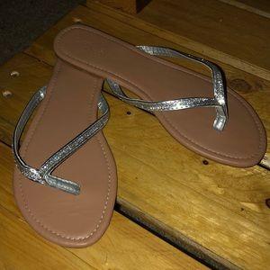 NWOT Crystal Sandals Charlotte Russe